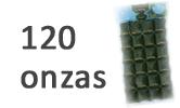 120 onzas de pasto de trigo congelado